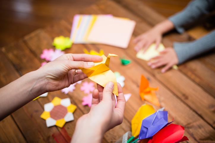 종이문화재단 어린이 종이접기 자격증 취득을 축하합니다