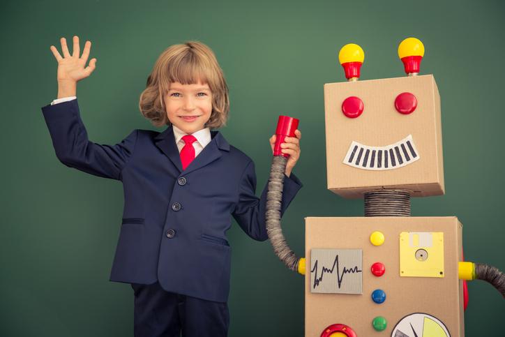 4차산업혁명, AI(인공지능)로봇과 함께하는 아들과딸&CLOi 체험